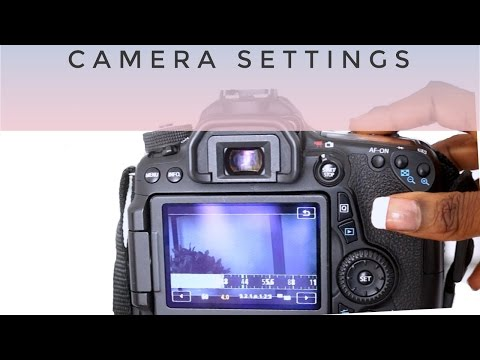 Canon 70d Settings for Beauty Videos | Creative Nerds TV EP. 3