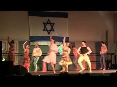 Israeli Folk Dancing In Dublin, Ireland