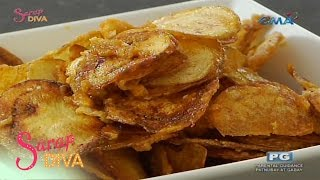 Sarap Diva: Potato Chips with Salted Egg