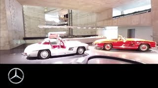 360° video at the Mercedes Benz Museum   Legend #6 (New Start)