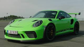 2019 Porsche 911 GT3 RS (Lizard Green) – Exterior, Interior, Driving Scenes