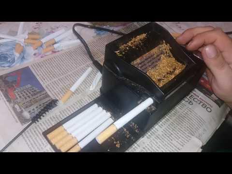 Электрическая машинка для набивки сигарет.The electric machine for packing cigarettes POWERMATIC 2+