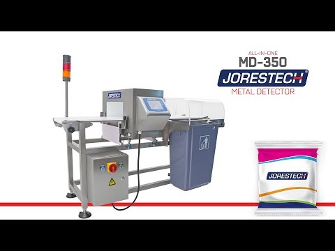 INDUSTRIAL METAL DETECTOR | Integrated Conveyor and Reject System for Food and Inspection