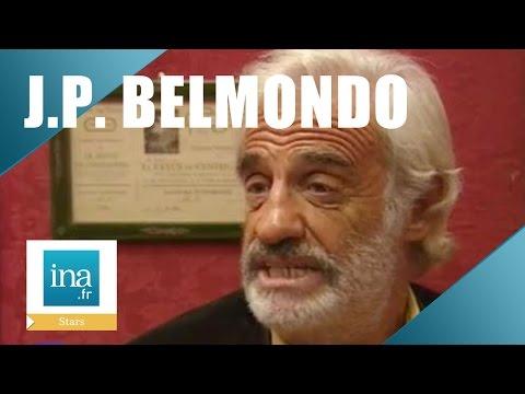 """Jean-Paul Belmondo """"Peut-être""""   Archive INA"""
