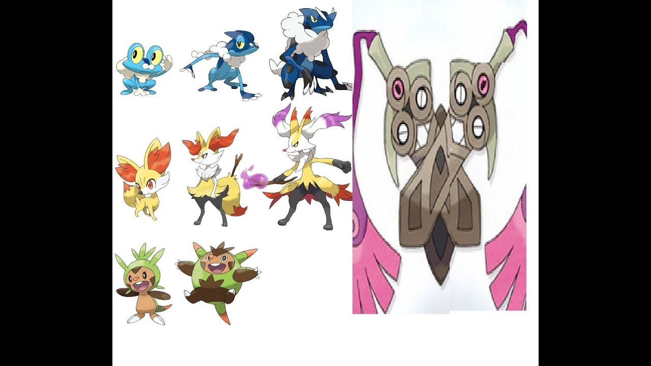 Pokemon X and Y news u...X And Y Starter Evolutions