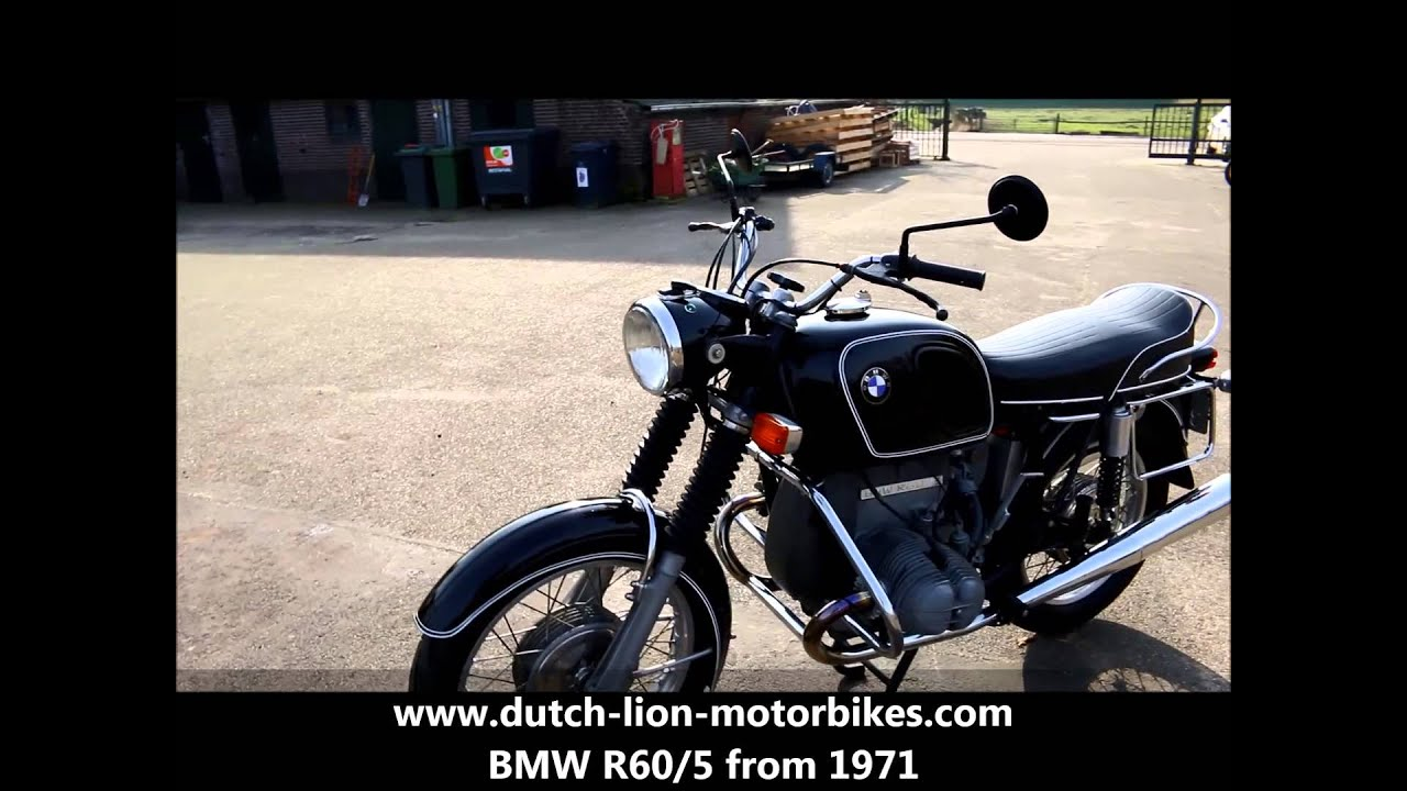 bmw r60 5 from 1971 youtube. Black Bedroom Furniture Sets. Home Design Ideas