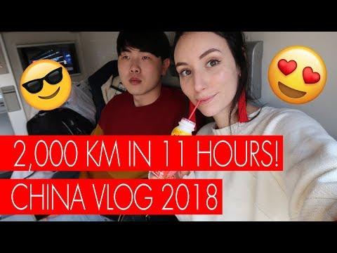 BULLET TRAIN ACROSS CHINA | Shanghai to Chengdu - CHINA VLOG 1