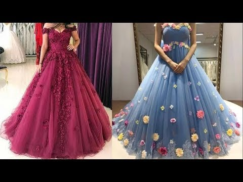 Party Wear Dresses Design collection for women || Long Gown Dress Picture 2021 || Prom dress images