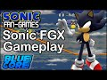 Sonic Fan Games - Sonic FGX Dark Sonic Gameplay + Download + Full Save File