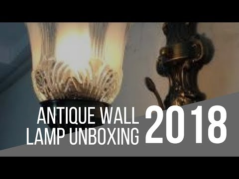Wall Lamp From Flipkart Unboxing/Review