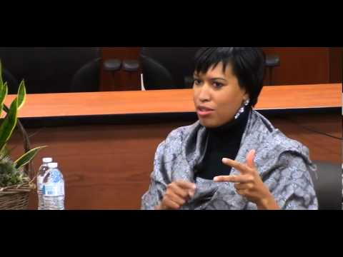2014 UnForum III DC Mayoral Candidate- Muriel E. Bowser