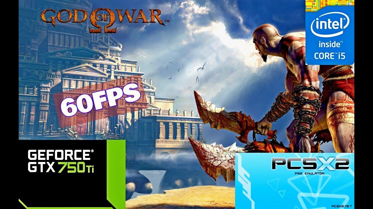 GOD OF WAR 1 PCSX2 (i5 3570 + GTX 750TI) |HD|