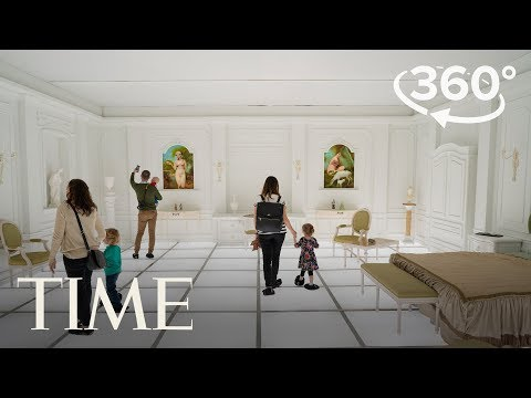 Step Inside The National Air And Space Museum's '2001: A Space Odyssey' Exhibit | 360 Video | TIME