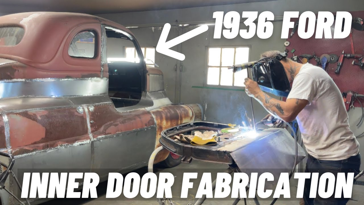 Download DOOR SURGERY ON THE 1936 FORD: FABRICATION AND APPLICATION