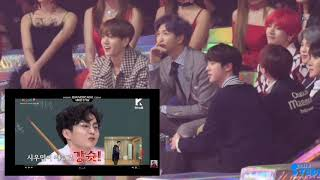 BTS REACTION TO NETIZEN CHOICE VCR [Melon Music Award 2018]