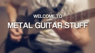 Welcome to Metal Guitar Stuff