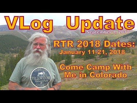 Vlog Update: RTR 2018, Join Me in Colorado