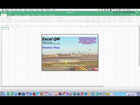 free excel qm for mac