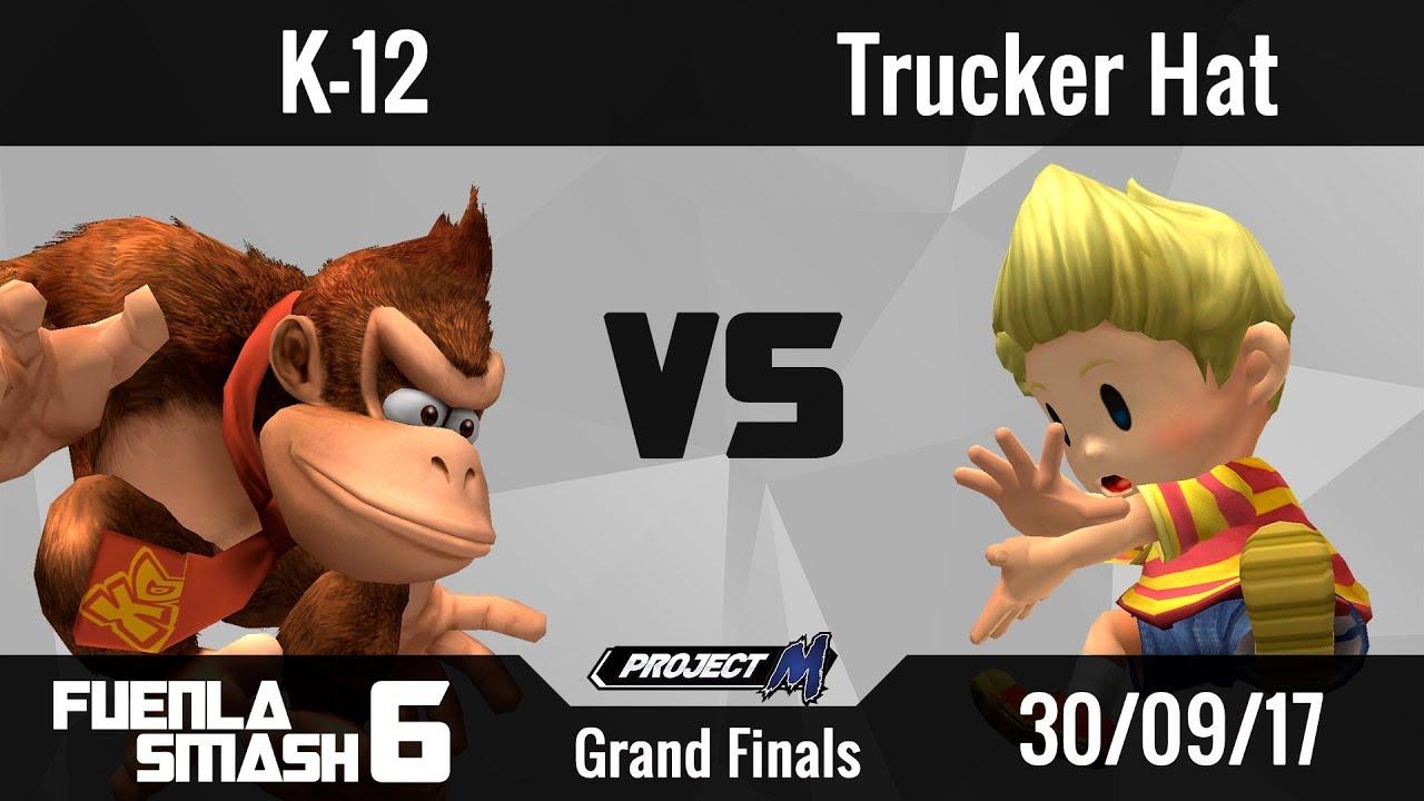 4a201a225f545  FS6  - PM Singles - K-12  The Madchine  (Donkey Kong) vs Trucker Hat  (Lucas) - Grand Finals