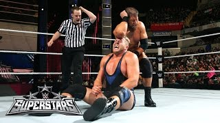 Jack Swagger vs. Curtis Axel: WWE Superstars, November 27, 2014