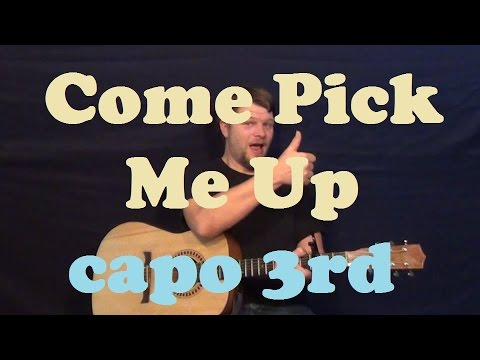 Come Pick Me Up (Ryan Adams) Guitar Lesson Easy Strum Chords How to Play Tutorial