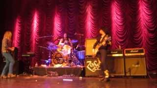 This is the band Zeppelin Live playing at the Fox Theatre in Redwoo...