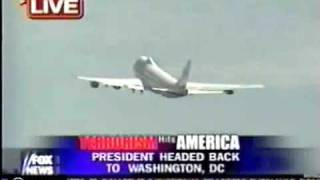 911 E-4B Doomsday Plane Takeoff