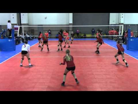 Premier 15 Black vs Power Volleyball Club 15-1 - Crossroads - D2M3 - 3/5/16