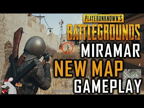 PUBG 1.0 Release Date - MIRAMAR New Map Gameplay - Patch Notes