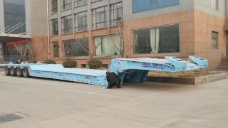 Download Video 4 Axles Hydraulic Folding Gooseneck Trailer MP3 3GP MP4