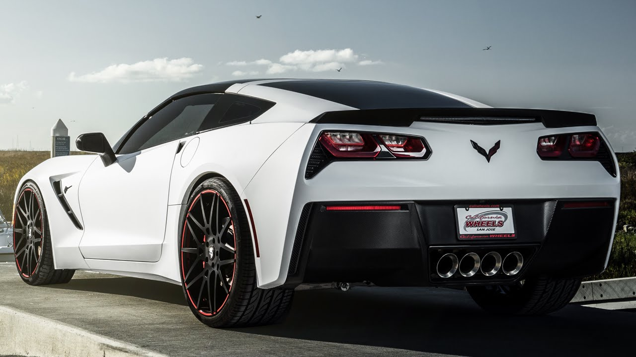 Chevrolet Corvette Stingray On Forgiato Maglia Ecl Wheels By California