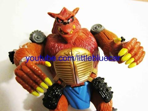 Teenage Mutant Ninja Turtles Mutations Mutatin Wolf Rahzar #637