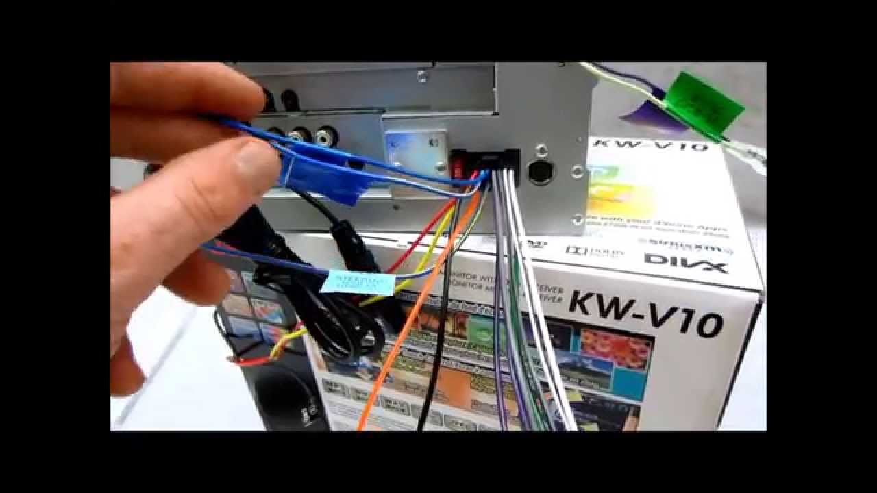 maxresdefault my review of the jvc kw v10 in dash receiver youtube jvc kw-v21bt wiring harness at alyssarenee.co
