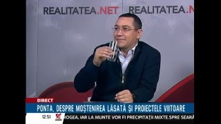Victor Ponta, interviu Realitatea.net, 3 martie 2016, partea I