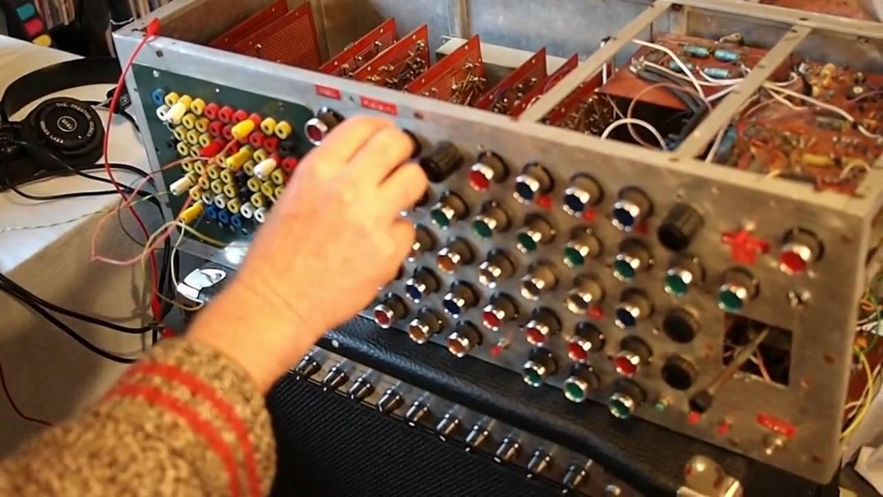 Trevor Pinch's DIY Modular Synth