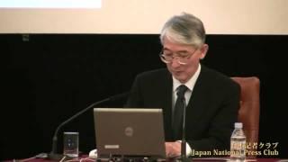 島崎邦彦 地震予知連絡会会長 2011.5.12