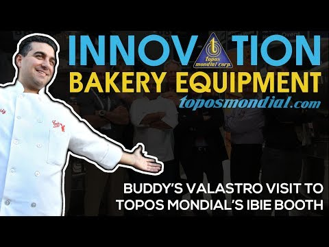 Buddy's Valastro Visit to Topos Mondial's Booth -IBIE 2016 (short clip)