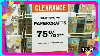 💖 75% OFF MEGA CLEARANCE - New at Hobby Lobby Round 1 💖