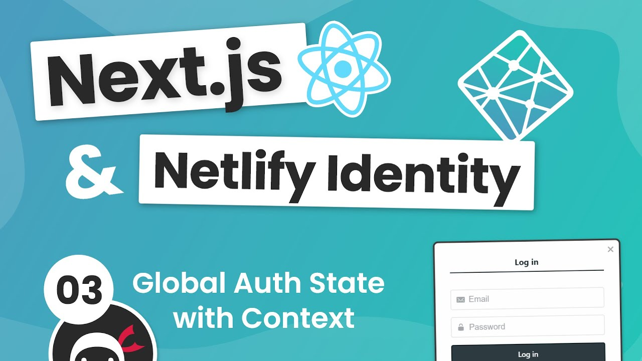 Next.js & Identity (auth) Tutorial #3 - Creating an Auth Context