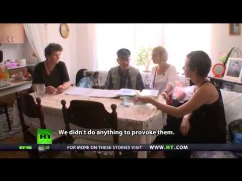 Serbian mother, victim of NATO aggression, speaks about the USA.