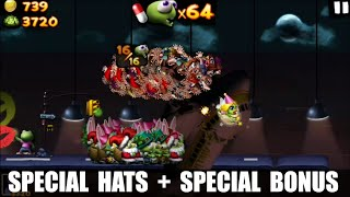Zombie Tsunami Let's Play With All The Special Hats And The Super Bonus