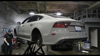 How To Save $$$ When Changing Audi RS7 Brakes!