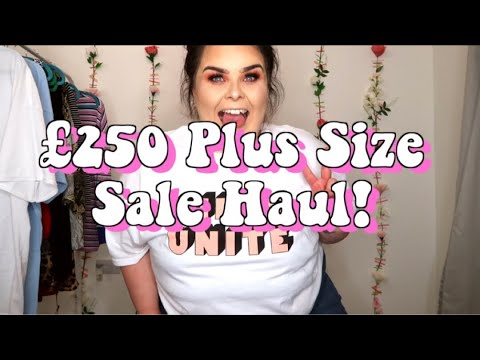 HUGE PLUS SIZE JANUARY SALES HAUL // ASOS & FOREVER 21