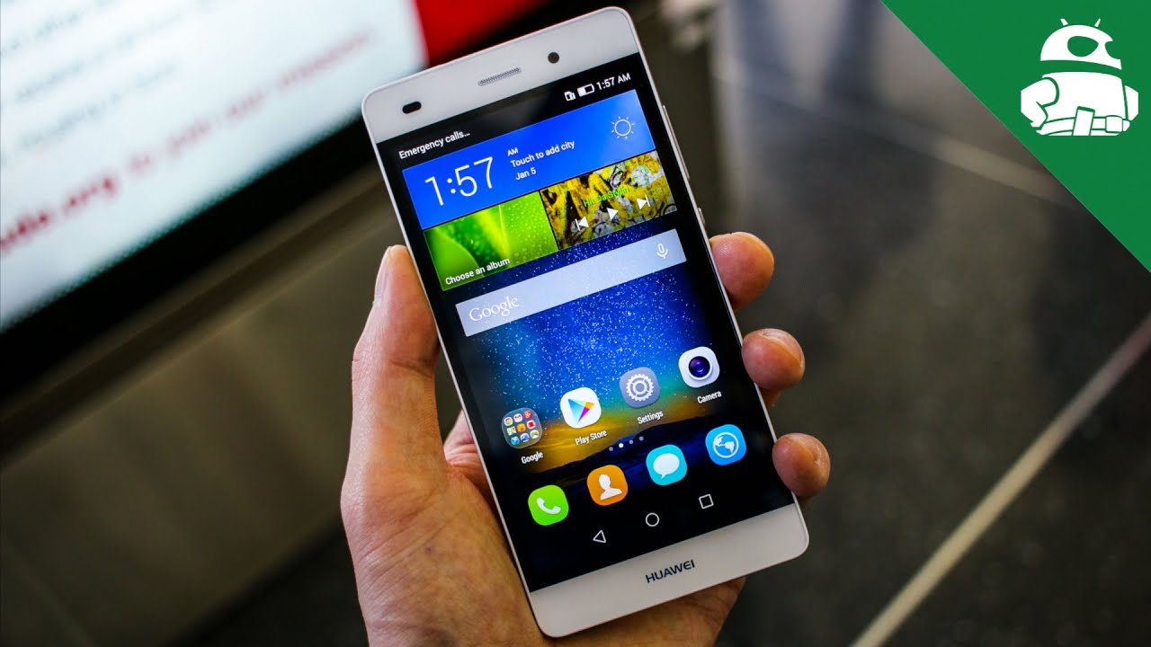 Huawei P8 Lite Hands On Youtube