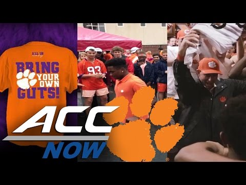 ICYMI: Clemson's Dances, Bring Your Own Guts Shirts, Flipping Fails & More