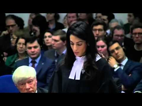 FULL SPEECH: Amal Clooney on legal team in EHCR Armenian gen