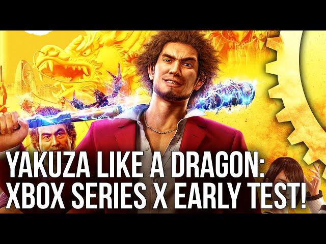 Yakuza Like A Dragon On Xbox Series X How Next Gen Hardware Delivers A Cross Gen Experience Eurogamer Net