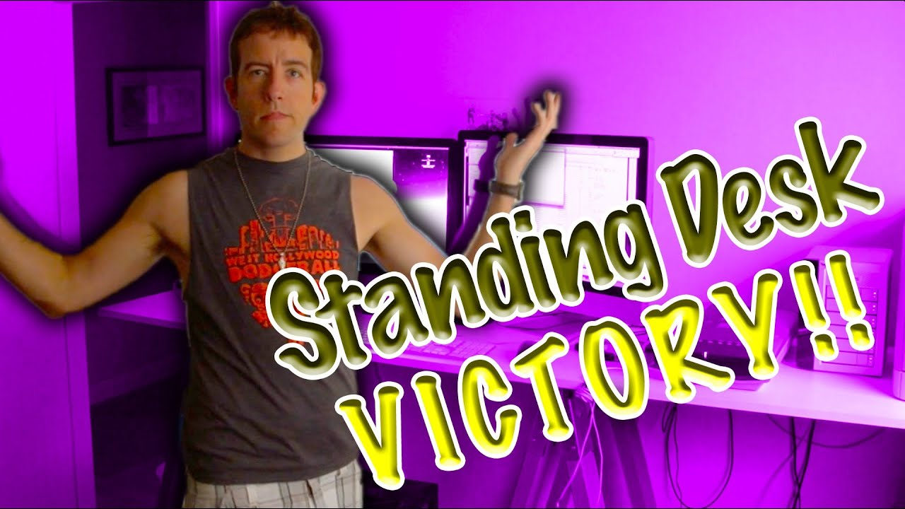 Vlog Home Depot Diy Standing Desk Success You