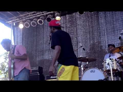 """The White Mandingos performs """"Wesley Snipes"""" at AFROPUNK FEST 2013"""
