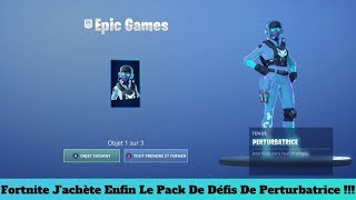 Fortnite I Finally Buy The Disruptive Challenge Pack !!!